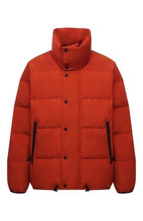 Мужская пуховая куртка DSQUARED2 оранжевого цвета, арт. S71AN0298/S53353 | Фото 1 (Материал внешний: Синтетический материал; Рукава: Длинные; Длина (верхняя одежда): Короткие; Материал подклада: Синтетический материал; Материал утеплителя: Пух и перо; Кросс-КТ: Куртка; Мужское Кросс-КТ: пуховик-короткий; Стили: Кэжуэл)