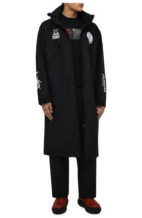 Мужская пуховая парка fulcos 2 moncler 1952 MONCLER GENIUS черного цвета, арт. G2-092-1C000-04-53694 | Фото 2 (Материал внешний: Синтетический материал; Материал подклада: Синтетический материал; Рукава: Длинные; Материал утеплителя: Пух и перо; Длина (верхняя одежда): Длинные; Кросс-КТ: Куртка; Стили: Гранж)
