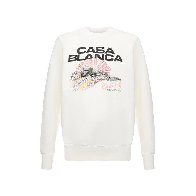 Хлопковый свитшот Casablanca 12285187