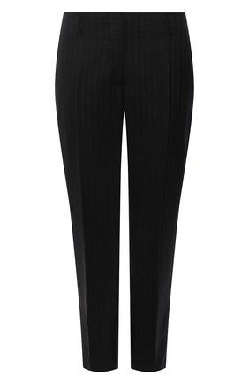 Женские шерстяные брюки DRIES VAN NOTEN черного цвета, арт. 212-010918-3135 | Фото 1 (Длина (брюки, джинсы): Стандартные; Материал внешний: Шерсть; Материал подклада: Вискоза; Женское Кросс-КТ: Брюки-одежда; Стили: Кэжуэл; Силуэт Ж (брюки и джинсы): Прямые)