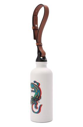 Женского бутылка loewe x paula's ibiza LOEWE белого цвета, арт. K000A20X01 | Фото 2 (Материал: Металл)