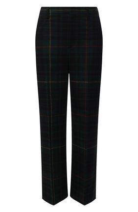 Женские шерстяные брюки POLO RALPH LAUREN разноцветного цвета, арт. 211847148 | Фото 1 (Длина (брюки, джинсы): Стандартные; Материал внешний: Шерсть; Стили: Кэжуэл; Женское Кросс-КТ: Брюки-одежда; Силуэт Ж (брюки и джинсы): Прямые)
