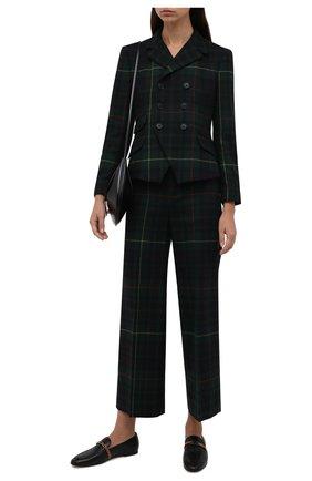 Женские шерстяные брюки POLO RALPH LAUREN разноцветного цвета, арт. 211847148 | Фото 2 (Длина (брюки, джинсы): Стандартные; Материал внешний: Шерсть; Стили: Кэжуэл; Женское Кросс-КТ: Брюки-одежда; Силуэт Ж (брюки и джинсы): Прямые)