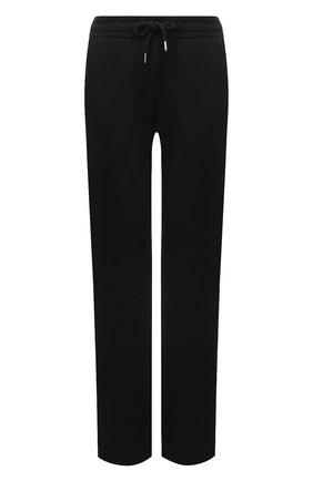 Женские хлопковые брюки DRIES VAN NOTEN черного цвета, арт. 212-011112-3608 | Фото 1 (Материал внешний: Хлопок; Стили: Кэжуэл; Женское Кросс-КТ: Брюки-одежда; Силуэт Ж (брюки и джинсы): Прямые; Длина (брюки, джинсы): Удлиненные, Стандартные)