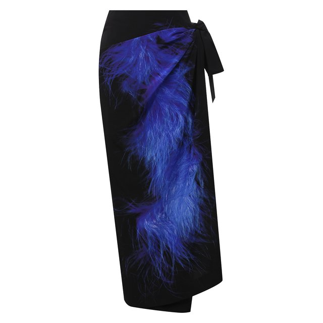 Шелковая юбка Dries Van Noten