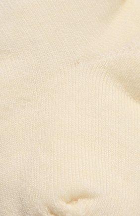 Детские шерстяные носки WOOL&COTTON кремвого цвета, арт. NPML | Фото 2 (Материал: Шерсть)