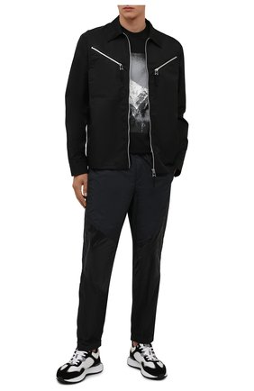 Мужская футболка 2 moncler 1952 moncler genius x and wander MONCLER GENIUS черного цвета, арт. G2-092-8C000-10-829FB | Фото 2 (Материал внешний: Хлопок; Принт: С принтом; Рукава: Короткие; Стили: Спорт-шик; Длина (для топов): Стандартные)