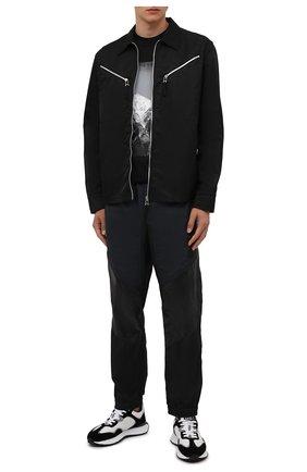 Мужские джоггеры 2 moncler 1952 MONCLER GENIUS черного цвета, арт. G2-092-2A000-09-54A81 | Фото 2 (Материал внешний: Синтетический материал; Материал подклада: Синтетический материал; Длина (брюки, джинсы): Стандартные; Силуэт М (брюки): Джоггеры; Стили: Спорт-шик)