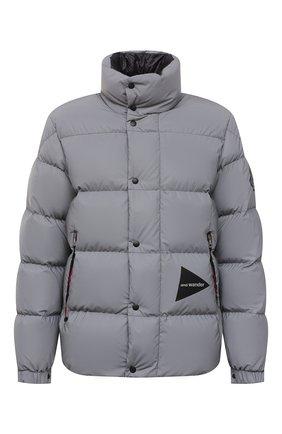 Мужская пуховая куртка 2 moncler 1952 moncler genius x and wander MONCLER GENIUS серого цвета, арт. G2-092-1A000-14-549QD | Фото 1 (Материал утеплителя: Пух и перо; Материал внешний: Синтетический материал; Рукава: Длинные; Материал подклада: Синтетический материал; Длина (верхняя одежда): Короткие; Кросс-КТ: Куртка; Мужское Кросс-КТ: пуховик-короткий; Стили: Спорт-шик)