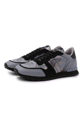 Комбинированные кроссовки Rockrunner | Фото №1