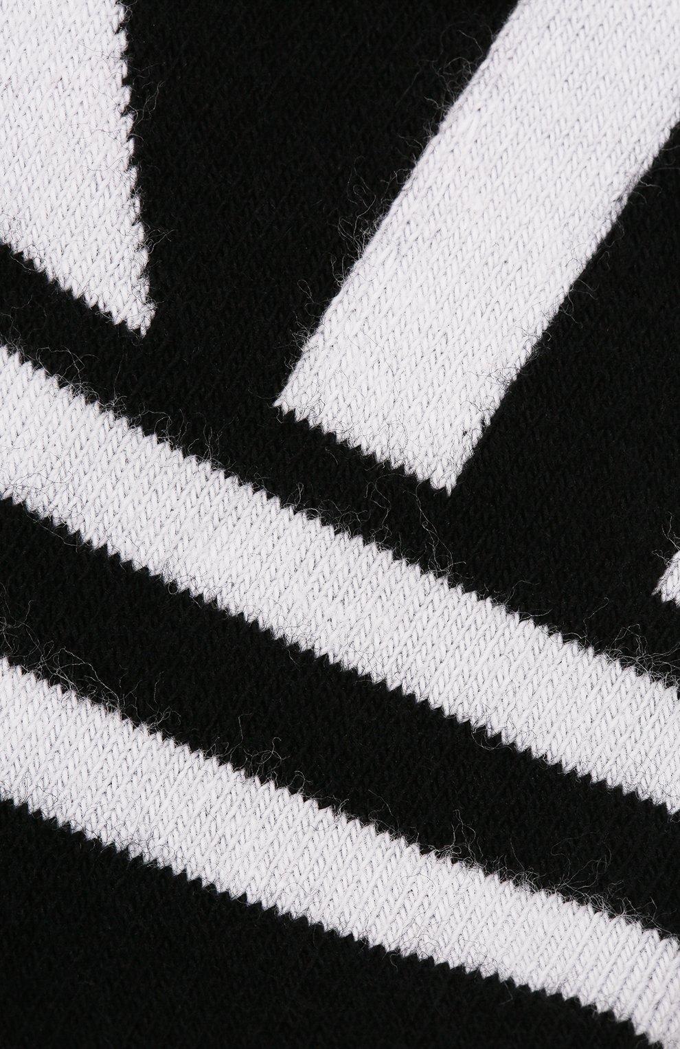 Мужские хлопковые носки DOLCE & GABBANA черного цвета, арт. GX370T/JACBP   Фото 2 (Кросс-КТ: бельё; Материал внешний: Хлопок)