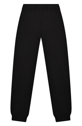 Детские хлопковые джоггеры SPRAYGROUND черного цвета, арт. SPY190 | Фото 2 (Материал внешний: Хлопок; Мальчики Кросс-КТ: Брюки-спорт)