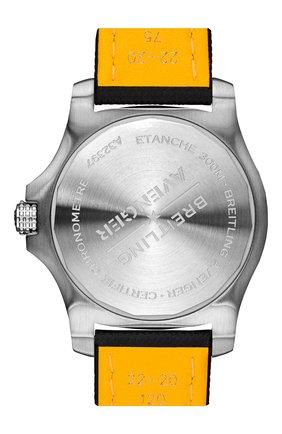Мужские часы avenger automatic gmt 43 BREITLING бесцветного цвета, арт. A32397101A1X2   Фото 4 (Механизм: Автомат; Материал корпуса: Сталь; Цвет циферблата: Белый)