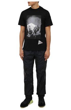 Мужские комбинированные кроссовки orisan Y-3 черного цвета, арт. GZ9138/M | Фото 2 (Подошва: Массивная; Материал внутренний: Текстиль, Натуральная кожа; Материал внешний: Текстиль; Стили: Спорт)
