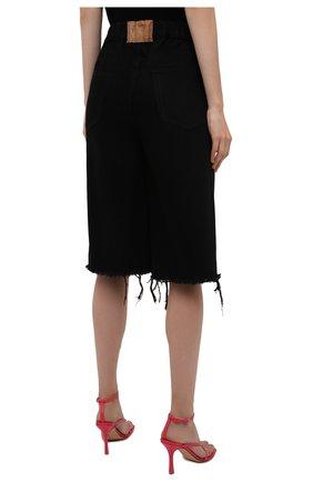 Женские джинсовые шорты DENIM X ALEXANDER WANG черного цвета, арт. 4DC4214035   Фото 4 (Женское Кросс-КТ: Шорты-одежда; Кросс-КТ: Деним; Материал внешний: Хлопок; Длина Ж (юбки, платья, шорты): Миди; Стили: Кэжуэл)