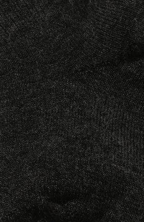 Детские шерстяные носки WOOL&COTTON черного цвета, арт. NPML | Фото 2 (Материал: Шерсть)
