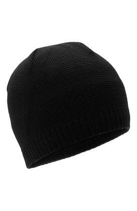 Мужская шапка BOGNER черного цвета, арт. 98656125 | Фото 1 (Материал: Текстиль, Синтетический материал, Шерсть; Кросс-КТ: Трикотаж)