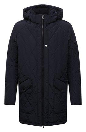 Мужская утепленная куртка BOGNER темно-синего цвета, арт. 38092487 | Фото 1 (Рукава: Длинные; Материал внешний: Синтетический материал; Материал подклада: Синтетический материал; Кросс-КТ: Куртка; Мужское Кросс-КТ: утепленные куртки; Стили: Кэжуэл; Длина (верхняя одежда): До середины бедра)