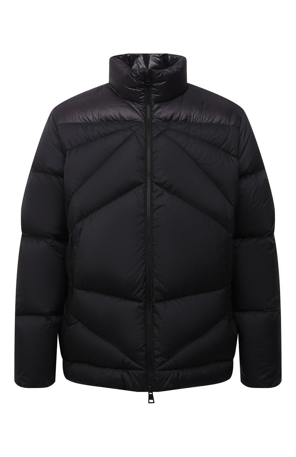 Мужская пуховая куртка tama 2 moncler 1952 MONCLER GENIUS черного цвета, арт. G2-092-1A000-30-595EV   Фото 1 (Кросс-КТ: Куртка; Мужское Кросс-КТ: пуховик-короткий; Рукава: Длинные; Материал внешний: Синтетический материал; Материал подклада: Синтетический материал; Длина (верхняя одежда): Короткие; Материал утеплителя: Пух и перо)