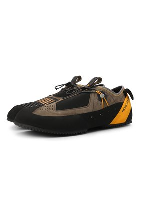 Мужские кроссовки nirmal 2 moncler 1952 MONCLER GENIUS черного цвета, арт. G2-092-4M705-00-02T14 | Фото 1 (Подошва: Плоская; Материал внутренний: Натуральная кожа, Текстиль; Стили: Гранж)