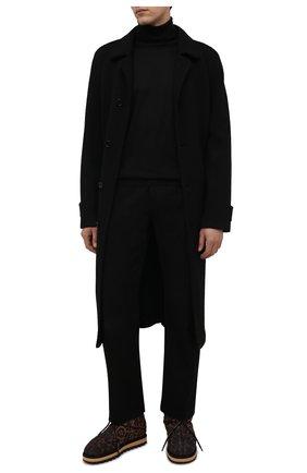 Мужские текстильные сапоги city boots DOLCE & GABBANA леопардового цвета, арт. CS1909/A0841 | Фото 2 (Подошва: Массивная; Материал внешний: Текстиль; Материал внутренний: Текстиль; Мужское Кросс-КТ: Сапоги-обувь)