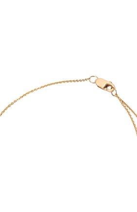 Женское колье J-POINT золотого цвета, арт. ИПГ857.60.280721.2Y | Фото 4 (Материал: Золото)