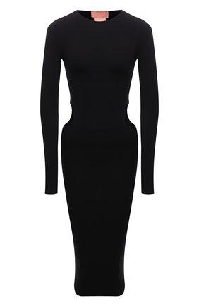 Платье Amina Muaddi x Wolford | Фото №1