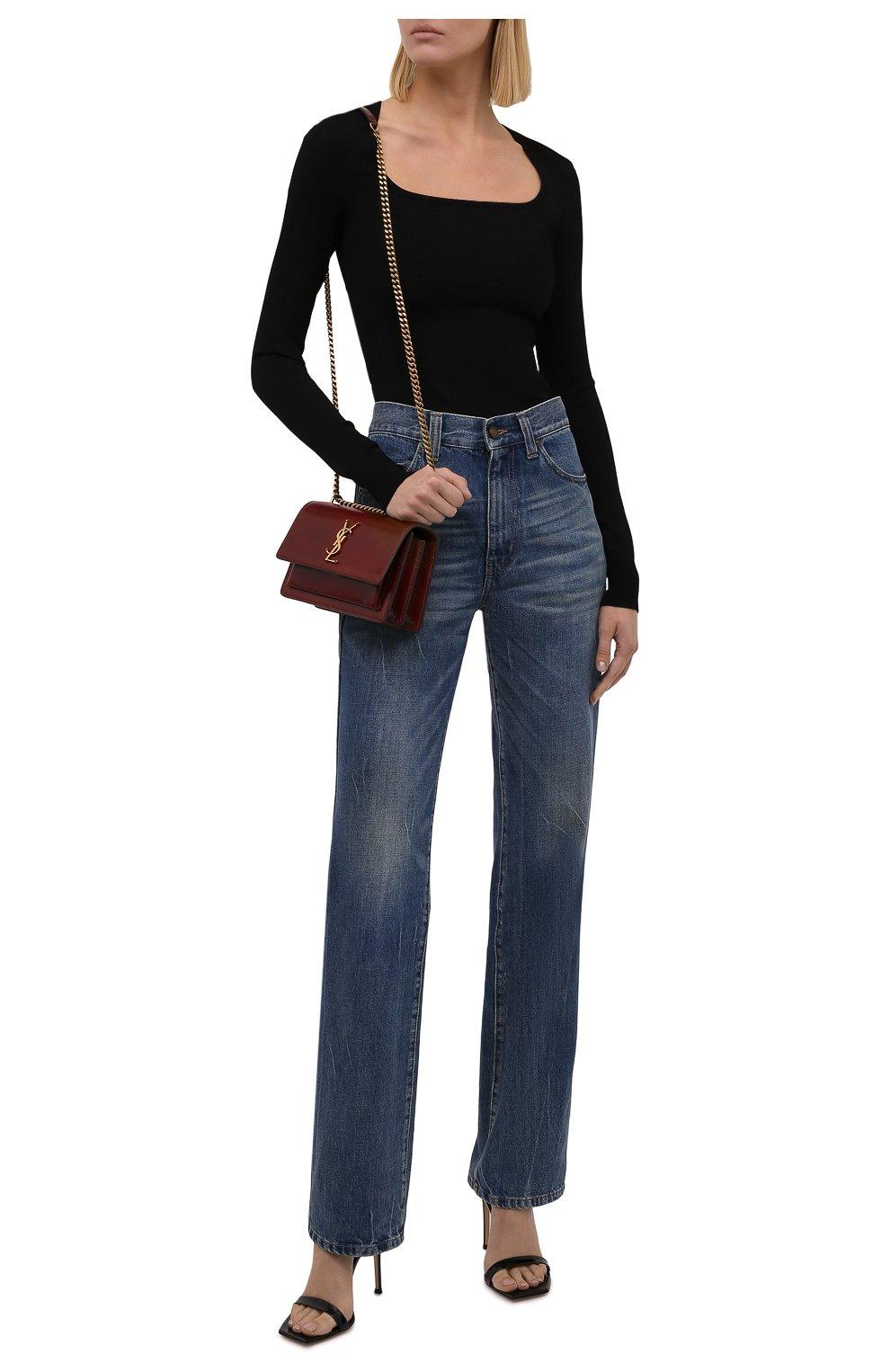 Женский пуловер DOLCE & GABBANA черного цвета, арт. FXD44T/JBMR9 | Фото 2 (Рукава: Длинные; Длина (для топов): Стандартные; Материал внешний: Вискоза; Женское Кросс-КТ: Пуловер-одежда; Стили: Минимализм)