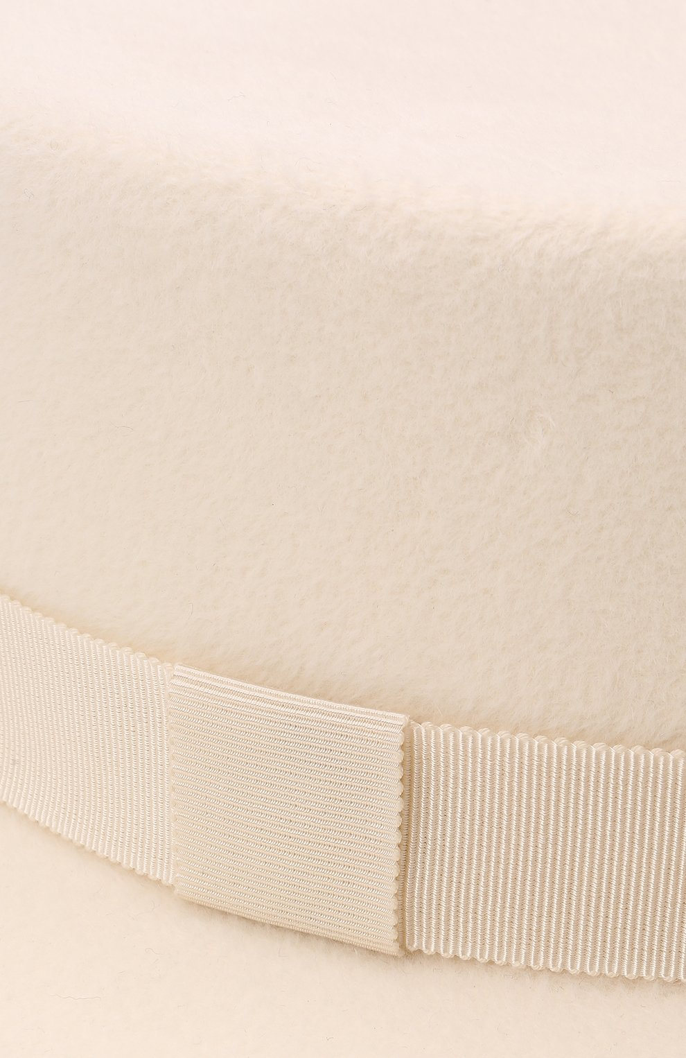 Женская шляпа kanotie mini COCOSHNICK HEADDRESS белого цвета, арт. kanotiemini   Фото 4 (Материал: Текстиль)