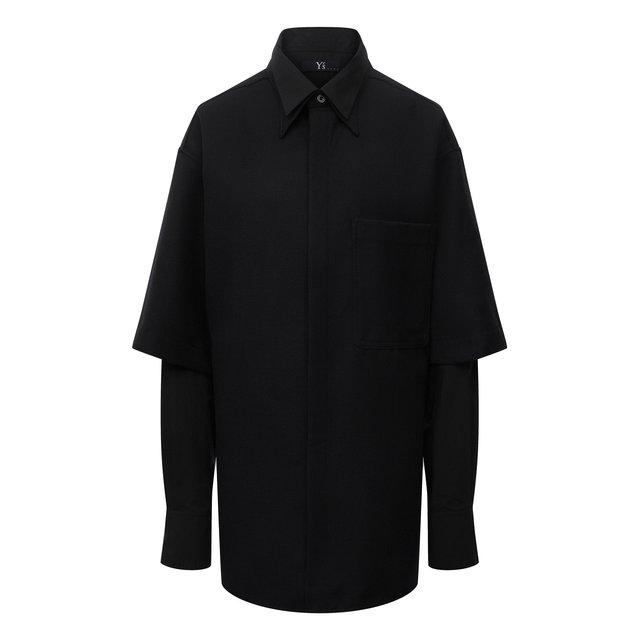 Шерстяная рубашка Y`s