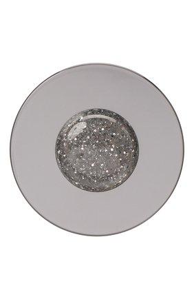 Женская брошь EMPORIO ARMANI серебряного цвета, арт. 860410/1A609   Фото 1 (Материал: Металл)