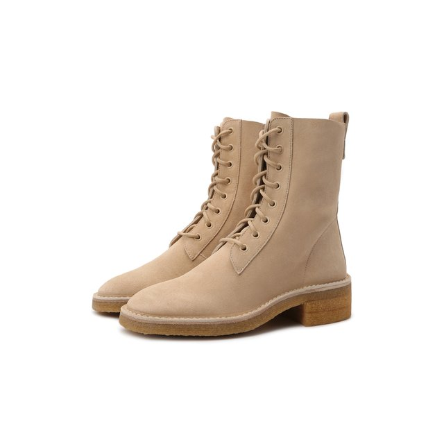 Замшевые ботинки Edith Chloé Chloe