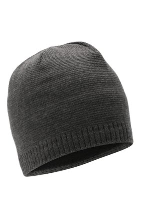 Мужская шапка BOGNER серого цвета, арт. 98656125 | Фото 1 (Материал: Шерсть, Синтетический материал, Текстиль; Кросс-КТ: Трикотаж)