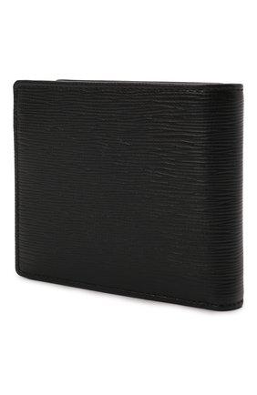 Мужской кожаное портмоне BOSS черного цвета, арт. 50460308 | Фото 2