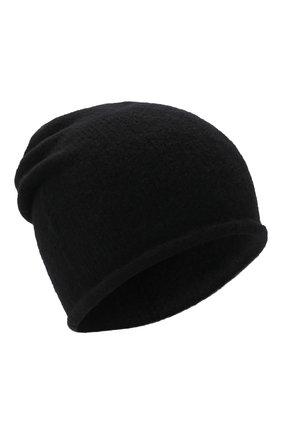 Мужская шапка ISABEL BENENATO черного цвета, арт. UK26F21 | Фото 1 (Материал: Шерсть, Синтетический материал, Текстиль; Кросс-КТ: Трикотаж)