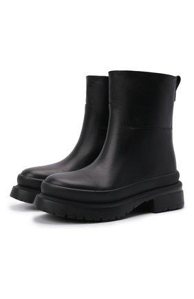 Мужские кожаные сапоги roman stud VALENTINO черного цвета, арт. WY0S0E82/YYB | Фото 1 (Подошва: Массивная; Материал внутренний: Натуральная кожа; Каблук высота: Высокий; Мужское Кросс-КТ: Сапоги-обувь)
