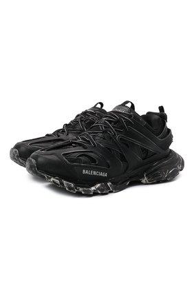 Мужские кроссовки track faded BALENCIAGA черного цвета, арт. 542023/W3CN2 | Фото 1 (Материал внутренний: Текстиль; Материал внешний: Экокожа; Подошва: Массивная; Стили: Гранж)