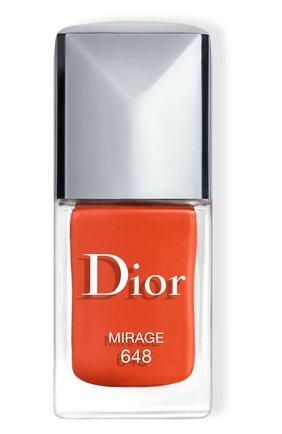 Лак для ногтей rouge dior vernis, 648 мираж (10ml) DIOR бесцветного цвета, арт. F000355648 | Фото 1