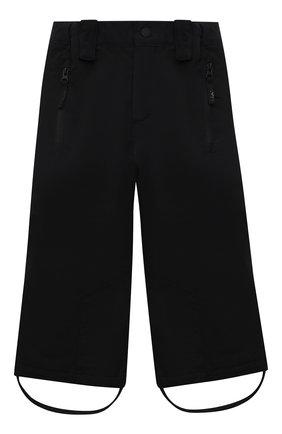Детские утепленные брюки jump pro MOLO черного цвета, арт. 5W21I102   Фото 1 (Материал внешний: Синтетический материал; Девочки Кросс-КТ: Комбинезон-верхняя одежда)