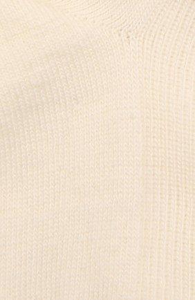 Детские шерстяные носки WOOL&COTTON молочного цвета, арт. NMML | Фото 2 (Материал: Шерсть)