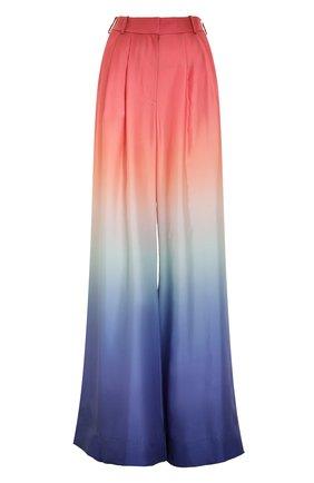 Женские шелковые брюки ZIMMERMANN разноцветного цвета, арт. 1069PPOS/   Фото 1 (Материал внешний: Шелк; Стили: Бохо; Женское Кросс-КТ: Брюки-одежда; Длина (брюки, джинсы): Удлиненные; Силуэт Ж (брюки и джинсы): Расклешенные)