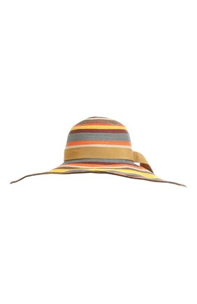 Женская шляпа ZIMMERMANN разноцветного цвета, арт. 3769RS22/ | Фото 1 (Материал: Растительное волокно)