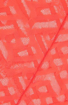 Женские колготки VERSACE красного цвета, арт. 1001545/1A01647 | Фото 2 (Материал внешний: Синтетический материал)
