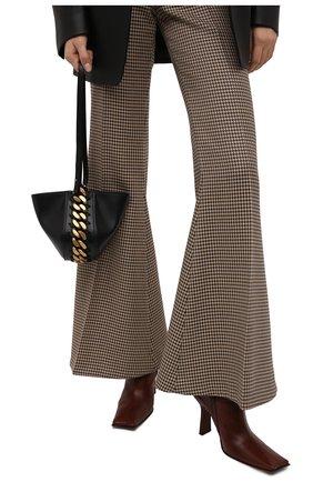 Женская сумка chunky chain STELLA MCCARTNEY черного цвета, арт. 700273/W8839 | Фото 2 (Материал: Текстиль, Экокожа; Размер: mini; Сумки-технические: Сумки через плечо)