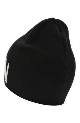 Детского шерстяная шапка BALMAIN черного цвета, арт. 6P0707 | Фото 2 (Материал: Шерсть)