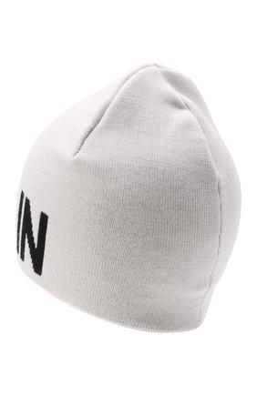 Детского шерстяная шапка BALMAIN белого цвета, арт. 6P0707 | Фото 2 (Материал: Шерсть)