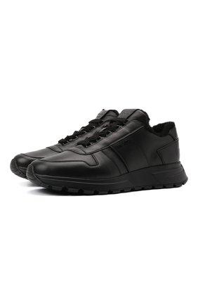 Кожаные кроссовки PRAX 01 | Фото №1