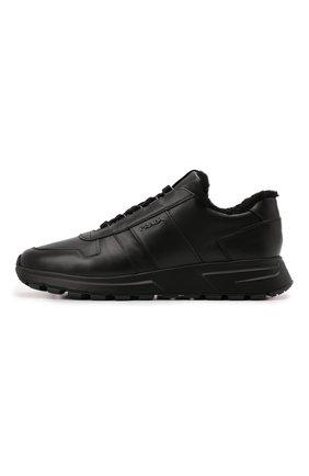 Кожаные кроссовки PRAX 01 | Фото №2