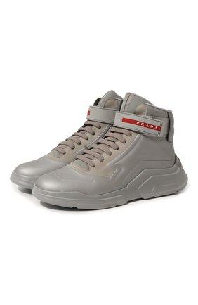 Кожаные кроссовки Polarius 19 LR | Фото №1