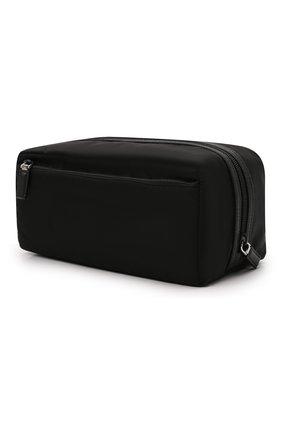 Мужской несессер PRADA черного цвета, арт. 2NA029-2DMH-F0002 | Фото 2 (Материал: Текстиль)